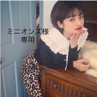 ミニオンズ様専用 bibiy lace frill collar  ♡(つけ襟)