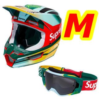 シュプリーム(Supreme)の送料込み 新品 シュプリーム ヘルメット ゴーグル セット M モス(ヘルメット/シールド)