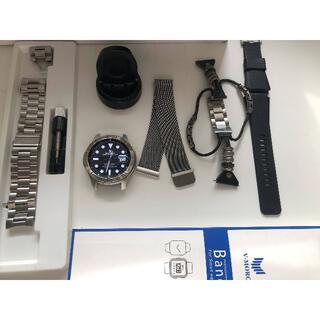 サムスン(SAMSUNG)のGalaxy Watch 46mm シルバー(腕時計(デジタル))