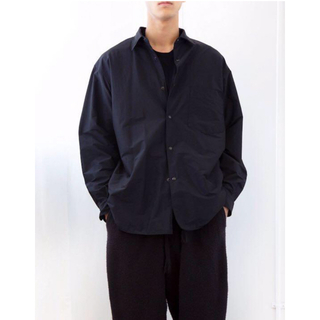COMOLI - 20AW comoli   コモリ  ナイロンシャツジャケット サイズ2