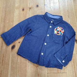 グラニフ(Design Tshirts Store graniph)の〈90〉グラニフ 長袖 シャツ デビッドマッキー エルマー(Tシャツ/カットソー)
