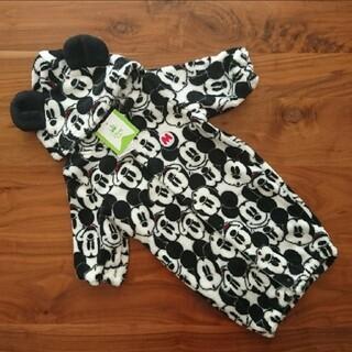 Disney - 新品 50-60センチ Disney  ミッキーマウス 新生児 カバーオール