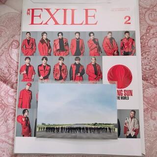 エグザイル トライブ(EXILE TRIBE)の月刊EXILE 2月号   ポストカード(アート/エンタメ/ホビー)
