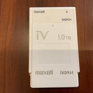 マクセル(maxell)のマクセル iVDR-S規格対応リムーバブル・ハードディスク 1.0TB(その他)