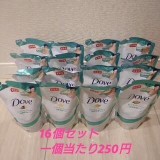 ユニリーバ(Unilever)のダヴ ボディウォッシュ詰め替え360g×16個 センシティブマイルド(ボディソープ/石鹸)