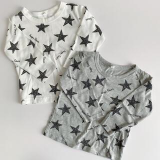 星柄ロンTセット(Tシャツ/カットソー)