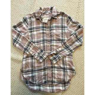 アメリカンイーグル(American Eagle)のアメリカンイーグル チェック柄ネルシャツ(シャツ/ブラウス(長袖/七分))