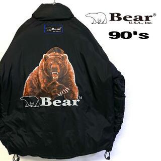 ベアー(Bear USA)の美品 90's Bear USA 2way ダウンジャケット メンズL(ダウンジャケット)