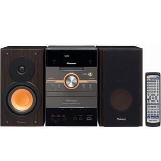パイオニア(Pioneer)のPioneer DVD/CD MD ミニコンポーネントシステム(ポータブルプレーヤー)