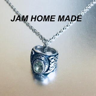 ジャムホームメイドアンドレディメイド(JAM HOME MADE & ready made)のジャムホームメイド ベビーカレッジリングネックレス(ネックレス)