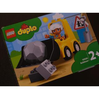レゴ(Lego)のLEGO duplo  town ブルドーザー(電車のおもちゃ/車)