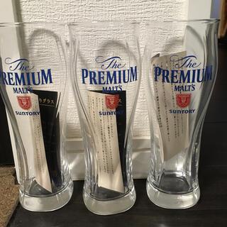 トウヨウササキガラス(東洋佐々木ガラス)のプレミアムモルツ オリジナルグラス 3個(グラス/カップ)