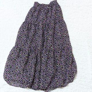 バービー(Barbie)のバービー Barbie 小花柄 フラワー フレア ロングスカート   (ロングスカート)