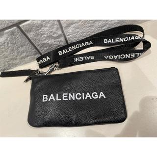 Balenciaga - BALENCIAGA バレンシアガ ポーチ ネックストラップ