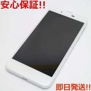 アクオス(AQUOS)の新品同様 SH-02J AQUOS EVER ホワイト (スマートフォン本体)