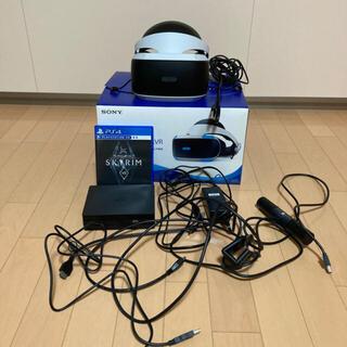 プレイステーションヴィーアール(PlayStation VR)のPlayStation VR+camera+ソフト2本 美品(家庭用ゲーム機本体)