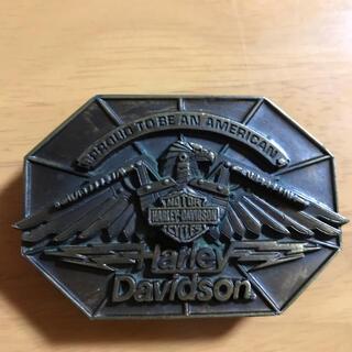 ハーレーダビッドソン(Harley Davidson)のベルト バックル ハーレー(ベルト)
