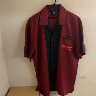 エクストララージ(XLARGE)の論理 lonely プリントボーリングシャツ(シャツ)