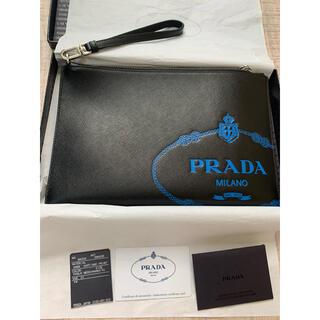PRADA - 新品 プラダ PRADA クラッチバッグ サフィアーノ