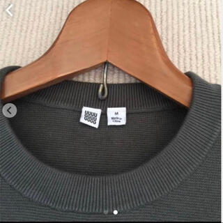 ユニクロ(UNIQLO)のミラノリブクルーネックセーター(ニット/セーター)