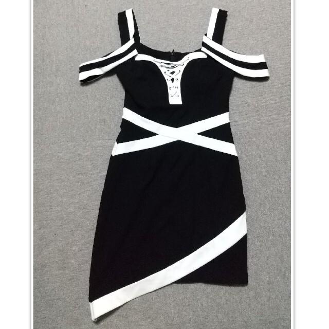 an(アン)のan オフショルキャバドレス レディースのフォーマル/ドレス(ナイトドレス)の商品写真