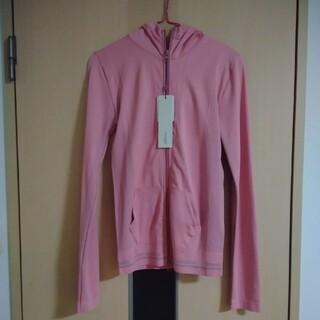 エミアトリエ(emmi atelier)の新品未使用タグ付 emmi ストレッチパーカー ピンク ヨガ トレーニングウェア(ウェア)