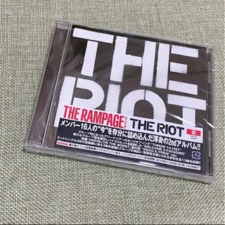 ザランページ(THE RAMPAGE)のTHE RAMPAGE THE RIOT アルバム 通常盤(ポップス/ロック(邦楽))