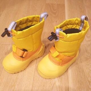 モンベル(mont bell)のおくこいさん専用 モンベル スノーブーツ キッズ 13cm +手袋(ブーツ)
