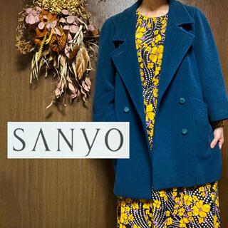 SANYO サンヨーコート ブルー