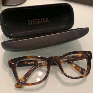 エフェクター(EFFECTOR)の美品★べっ甲がかわいいEFFECTOR エフェクター(サングラス/メガネ)