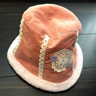 スーリー(Souris)のスーリー★美品★50センチ リバーシブル帽子(帽子)