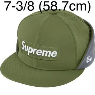 シュプリーム(Supreme)の7-3/8 Supreme New Era シュプリーム ニューエラ Cap 緑(キャップ)