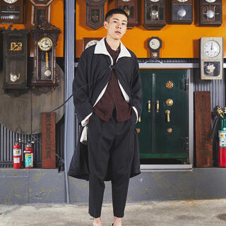 UNDERCOVER - tac:tac18SS 羽織りコート ブラック