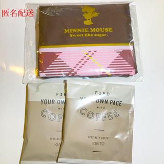 ディズニー(Disney)の最終サービス品☆ミニーエコバッグ&ドリップコーヒー2袋セット(コーヒー)
