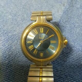ダンヒル(Dunhill)のdunhill 腕時計 クォーツ アナログ ブルー文字盤(腕時計(アナログ))