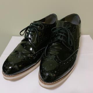 マッキントッシュフィロソフィー(MACKINTOSH PHILOSOPHY)のお値下げマッキントッシュフィロソフィー♡厚底レースアップシューズ(ローファー/革靴)