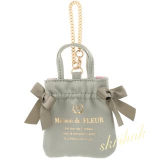 Maison de FLEUR - メゾンドフルール♡キラキラミニダブルリボントートバッグチャーム♡ジルスチュアート