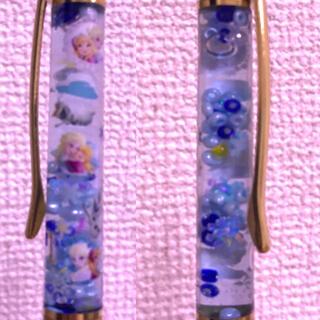 ディズニー(Disney)のハーバリウムボールペン エルサとアナとオラフ(その他)