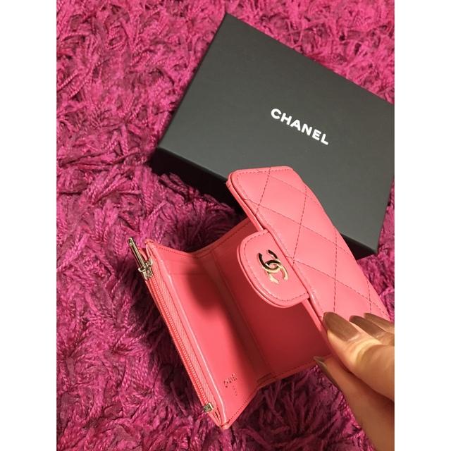 CHANEL(シャネル)の❤︎最終お値下げ❤︎ CHANEL 折り財布 レディースのファッション小物(財布)の商品写真