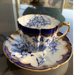 エインズレイ(Aynsley China)の【超希少】エインズレイ アンティーク1880年製140年越え ティーカップセット(食器)