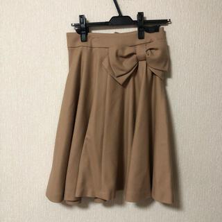 ボンメルスリー(Bon merceie)のボンメルスリー リボンスカート(ひざ丈スカート)