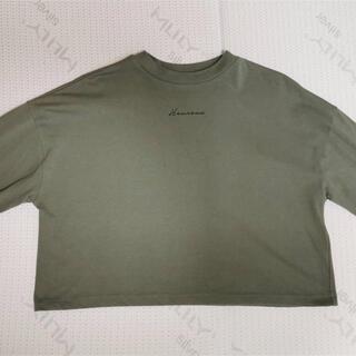 シマムラ(しまむら)のプチプラのあや ロゴT   (Tシャツ(長袖/七分))