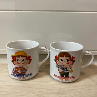 フジヤ(不二家)のペコちゃん マグカップ (グラス/カップ)
