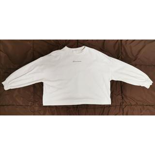 シマムラ(しまむら)のプチプラのあや ロゴT(Tシャツ(長袖/七分))