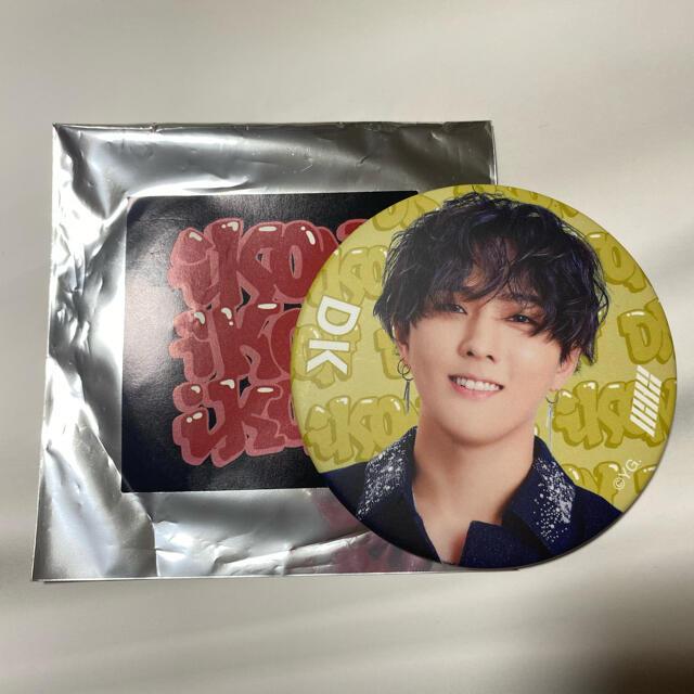 iKON(アイコン)のiKON ドンヒョク DK 缶バッジ エンタメ/ホビーのタレントグッズ(アイドルグッズ)の商品写真