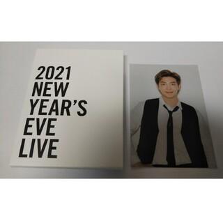 ボウダンショウネンダン(防弾少年団(BTS))のBTS 2021 NEW YEAR'S EVE LIVE ポストカード RM☆(アイドルグッズ)