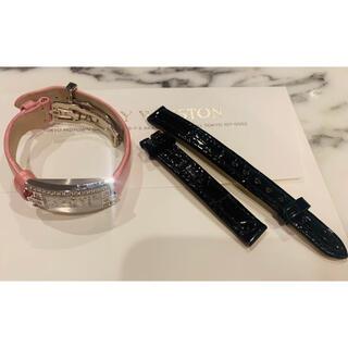 ハリーウィンストン(HARRY WINSTON)のハリーウィンストン レディース   黒クロコダイル 新品未使用(腕時計)