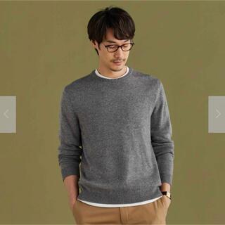 ORIHICA - オリヒカ ビジカジ クルーネックセーター美品