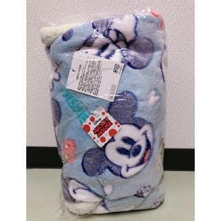 ディズニー(Disney)のミッキー型押し毛布(毛布)