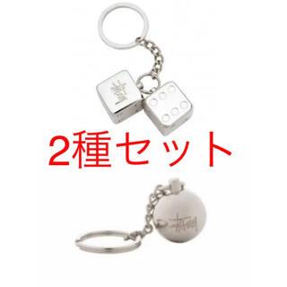 ステューシー(STUSSY)のstussy metal dice 8ball key chain(キーホルダー)